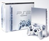 Silver PlayStation 2 Console (Slim Model) for PlayStation 2