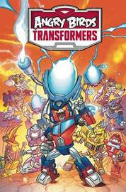 Angry Birds / Transformers: Age of Eggstinction by John Barber