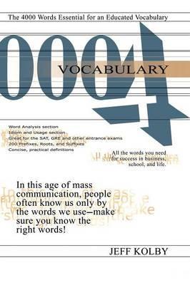 Vocabulary 4000 by Jeff Kolby
