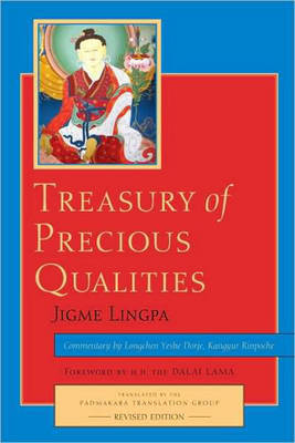 Treasury Of Precious Qualities by Longchen Yeshe Dorje image