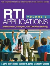 RTI Applications: Volume 2 by T. Chris Riley-Tillman