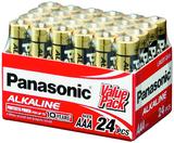 Panasonic Alkaline AAA Batteries - 24 Pack
