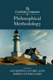 The Cambridge Companion to Philosophical Methodology image