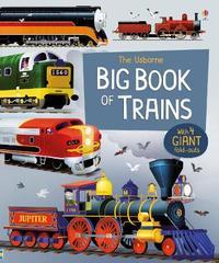 Big Book of Trains by Megan Cullis image