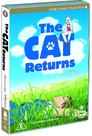 The Cat Returns on DVD image