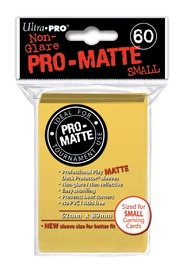 Ultra Pro: Pro-Matte Deck Protector Sleeves - Yellow