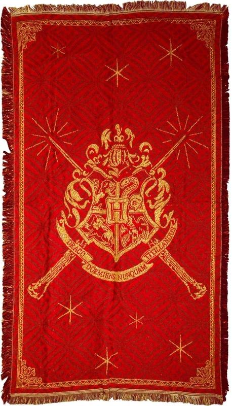 Harry Potter: Hogwarts Logo Throw Rug (92x147cm)