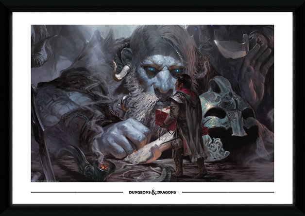 Dungeons and Dragons: Volos Guide to Monsters - Collector Print (50x70cm)