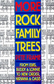 More Rock Family Trees by Pete Frame image