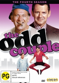 The Odd Couple (Season 4) on DVD