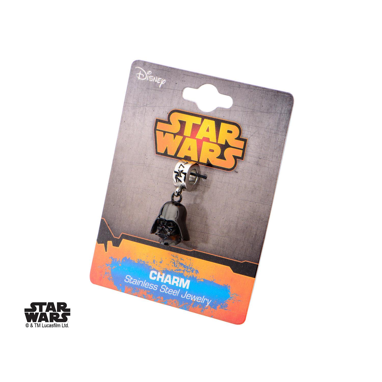 Star Wars 3D Darth Vader Black Dangle Charm image