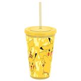 Pikachu Tumbler With Straw