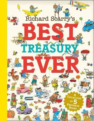Richard Scarry's Best Treasury Ever by Richard Scarry image