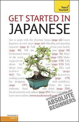 Teach Yourself Get Started in Japanese by Helen Gilhooly image