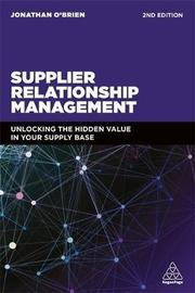 Supplier Relationship Management by Jonathan O'Brien image