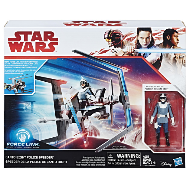 Star Wars: Canto Bight Policeman & Speeder 2 Pack