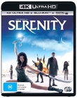 Serenity on UHD Blu-ray