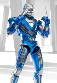 Marvel: Iron Man - Mark 30 (Blue Steel) - 1:12 Scale Omni Class Figure