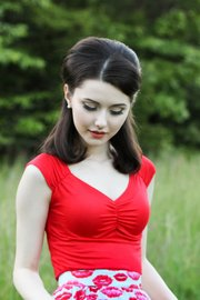 Isabel Top in Red (L)