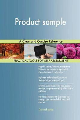 Product Sample a Clear and Concise Reference by Gerardus Blokdyk image