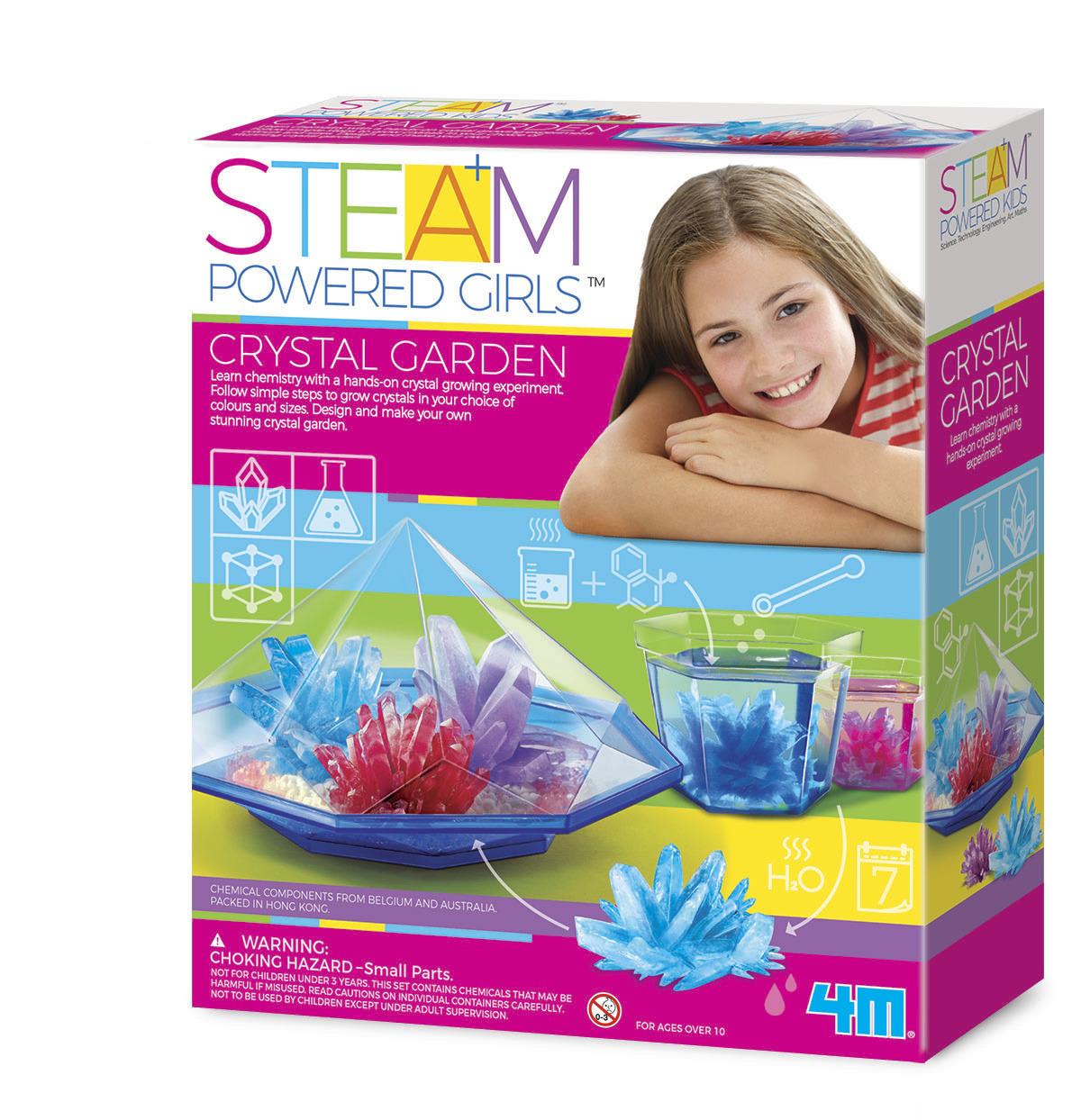4M STEAM Girls: Crystal Garden Science Kit image