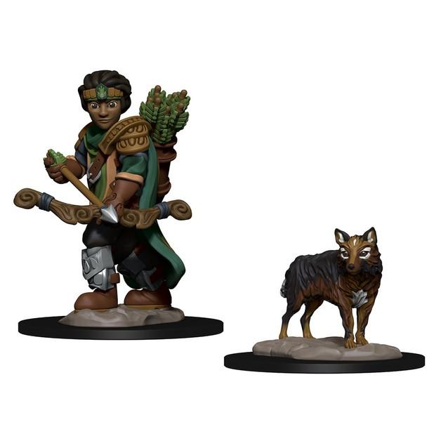 Wardlings: Boy Ranger & Wolf