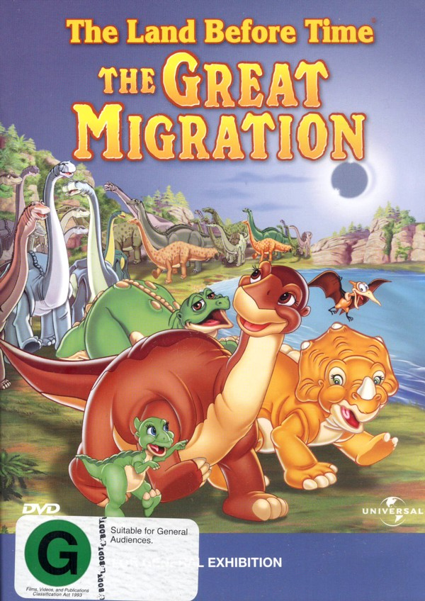 The Land Before Time - Vol 10 - The Great Migration on DVD image