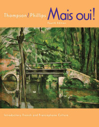 Mais Oui!: Student Text with In-text Audio CD-ROM by Chantal P Thompson image