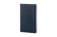 Moleskine: Classic Large Hard Cover Notebook Ruled - Sapphire Blue