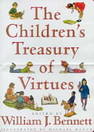 The Children's Treasury of Virtues by Michael Hague image