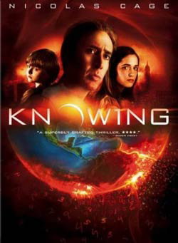 Knowing on DVD image