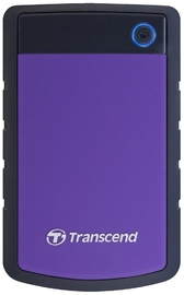 Transcend 1TB USB 3.0 Hard Drive - Purple