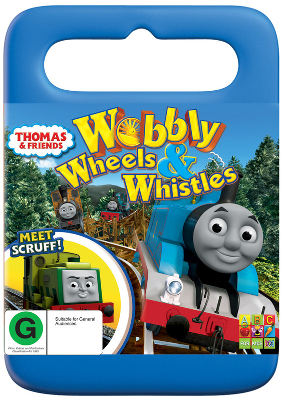 Thomas & Friends: Wobbly Wheels & Whistles on DVD