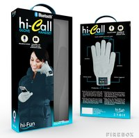 Bluetooth Gloves (Ladies Grey)