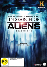 In Search Of Aliens - Season One on DVD