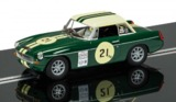 Scalextric: DPR MGB #21 - Slot Car