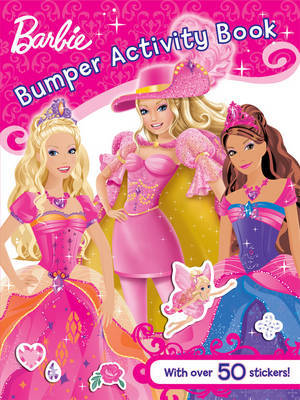 Barbie Bumper Activity Book image