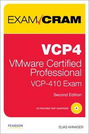 Vcp4 Exam Cram: Vmware Certified Professional by Elias Khnaser image