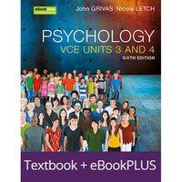 Psychology VCE Units 3&4 6E Ebookplus & Print + Studyon VCE Psychology U3&4 3E