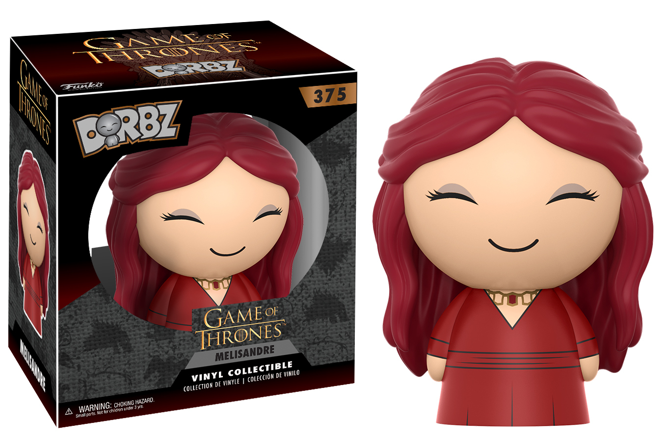 Game of Thrones - Melisandre Dorbz Vinyl Figure (with a chance for a Chase version!) image