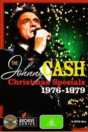 Johnny Cash: Christmas Specials 1976 - 1979 (4 Disc Set) DVD