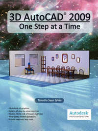3D AutoCAD 2009 by Timothy Sean Sykes image