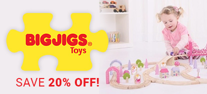 20% off Bigjigs!