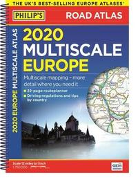 Philip's Multiscale Europe 2020 A4 by Philip's Maps