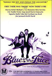 Blue In The Face on DVD