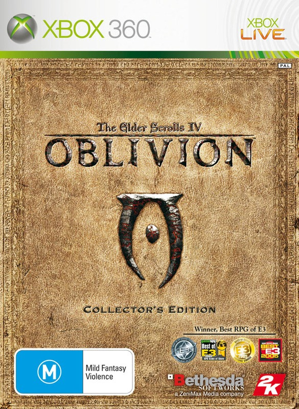 The Elder Scrolls IV: Oblivion Collector's Edition for X360
