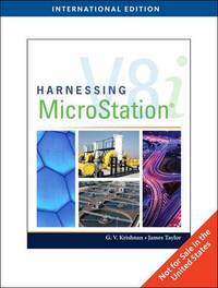 Harnessing Microstation V8i by James E Taylor image