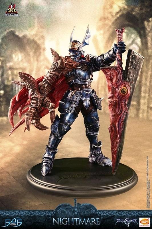 """Soul Calibur II - 22"""" Nightmare - Premium Collector's Statue"""