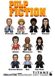 Pulp Fiction - Titans Mini-Figure (Blind Box)
