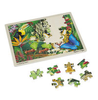 Melissa & Doug: Rainforest Jigsaw Puzzle - 48 Pcs